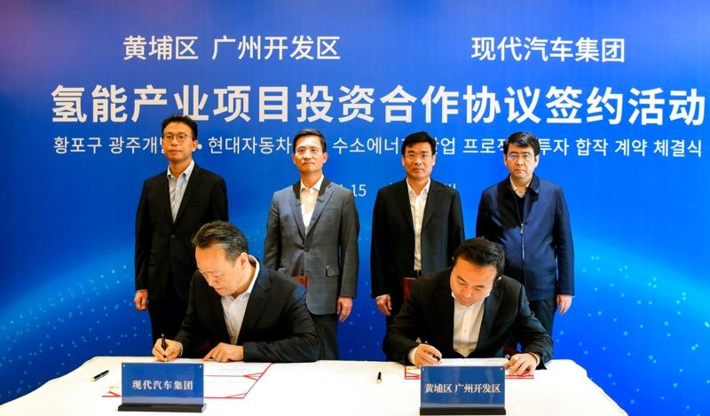 Hyundai avanza en la estrategia del hidrógeno con nueva planta en Guangzhou - hyundai-motor-group-hidrogeno
