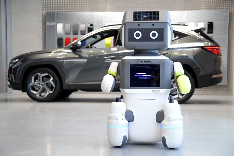 """Hyundai presenta el robot humanoide avanzado """"DAL-e"""" para servicios automatizados al cliente - hyundai-robot-humanoide-dal-e1"""