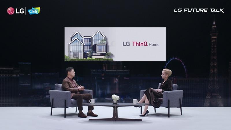 """""""LG Future Talk"""" donde líderes tecnológicos hablan sobre el valor de la innovación abierta - lg-future-talk-ces-2021"""