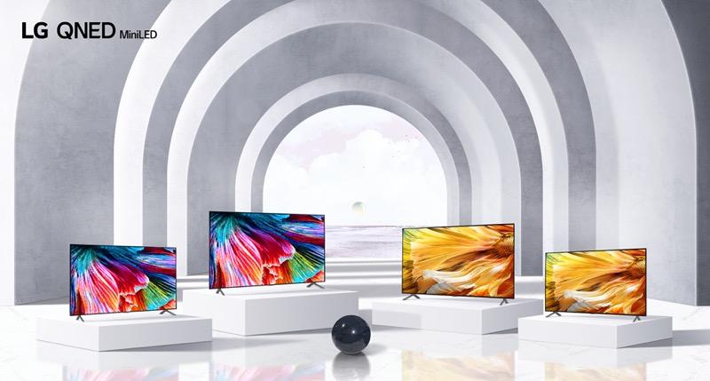 LG presenta su nueva línea de televisiones OLED 2021 en CES 2021 - lg-qned-mini-led-tv-lineup
