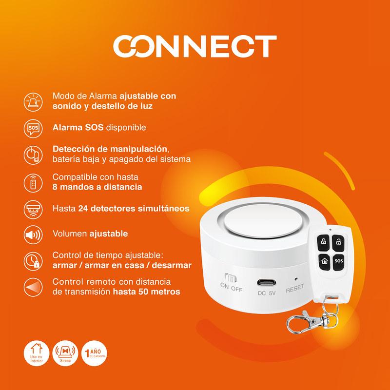 Tu hogar inteligente con Tecnolite Connect ¡conoce sus características! - modo-de-alarma-ajustable-sonido-destello-de-luz-800x800