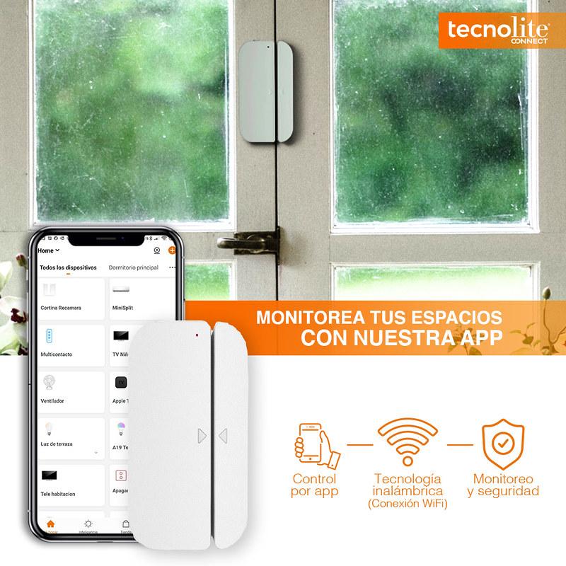 Tu hogar inteligente con Tecnolite Connect ¡conoce sus características! - sensor-tecno-800x800