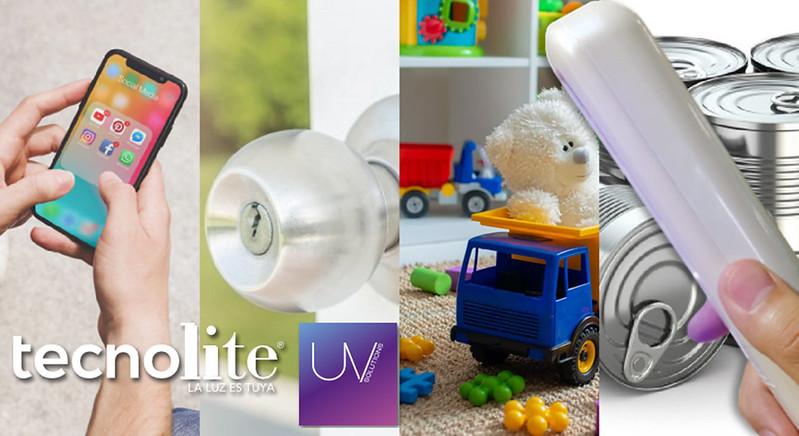 Esterilizador Portátil UV de Tecnolite, para mantén esterilizando superficies - tecnolite-uv-stick-sanitizante-2