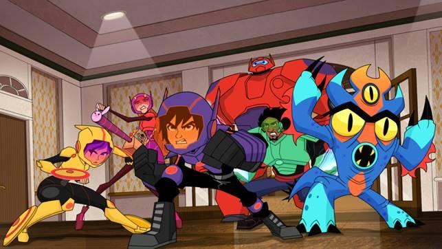 Disney estrena la tercera temporada de Grandes Héroes: La serie - tercera-temporada-de-grandes-heroes-la-serie