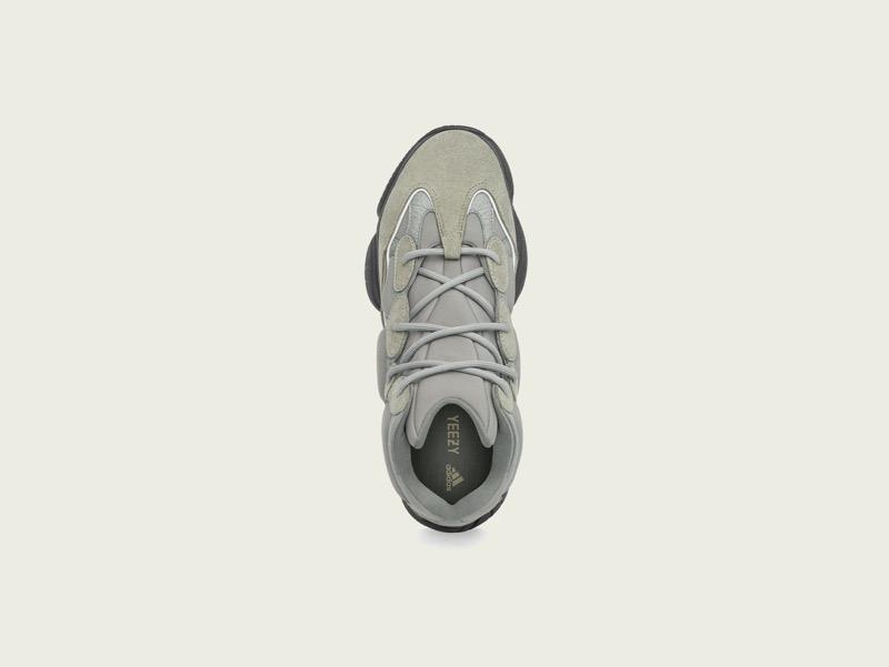 adidas + KANYE WEST anuncian el lanzamiento de YEEZY 500 HIGH MIST SLATE - adidas-yeezy-500-high-mist-slate-top