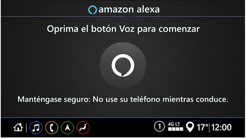¡La app de Alexa ya tiene modo oscuro! y conoce cómo configura rutinas con tu calendario y más - alexa-pantalla-auto-800x450