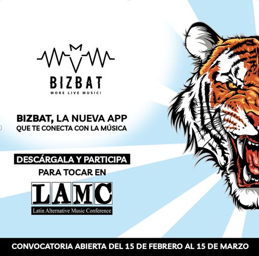 BizBat: La nueva plataforma musical digital que te lleva a tocar en los mejores Festivales - bizbat-app
