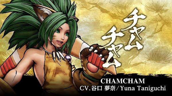 SNK revela un nuevo personaje de KOF XV y más sobre la season pass 3 de Samurai Shodown - cham-cham