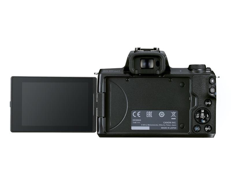 ¿Por qué elegir la nueva EOS M50 Mark II para crear contenido? Canon te lo dice en un streaming - hr-eos-m50-mkii-8-cl