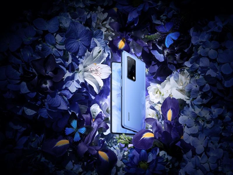 HUAWEI Mate X2, el smartphone insignia plegable de Huawei ¡Conoce sus características! - huawei-mate-x2-plegable-azul