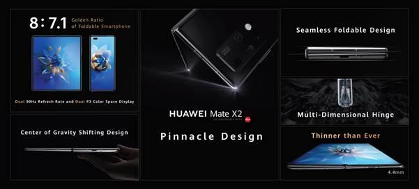 HUAWEI Mate X2, el smartphone insignia plegable de Huawei ¡Conoce sus características! - huawei-mate-x2-smartphone-caracteristicas