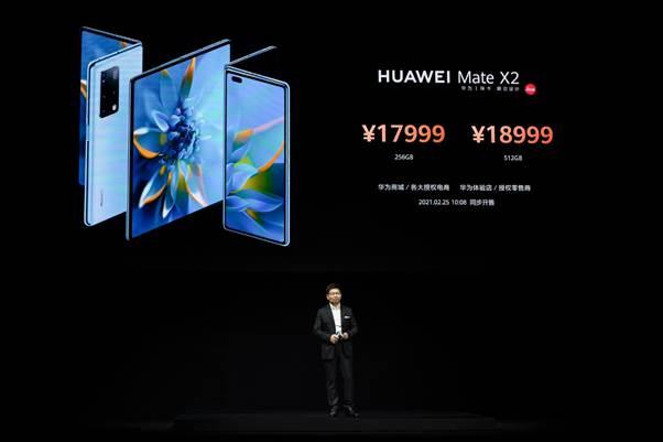 HUAWEI Mate X2, el smartphone insignia plegable de Huawei ¡Conoce sus características! - huawei-mate-x2-smartphone-precios