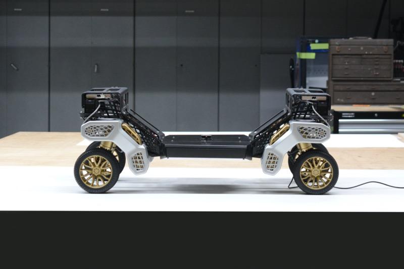 Hyundai presenta TIGER, el concepto de vehículo de máxima movilidad sin tripulación - hyundai-tiger-robot-transformador-de-excursion-en-tierra-inteligente-3