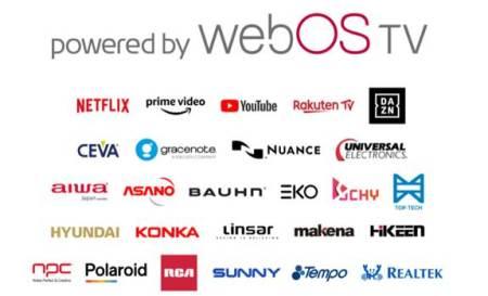 LG anuncia la disponibilidad de su plataforma de TV webOS para otras marcas de TV asociadas