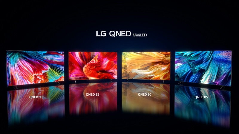 LG lanza nuevos línea de televisores 2021: OLED, QNED Mini LED y NanoCell - lg-qned-lineup-scaled-1