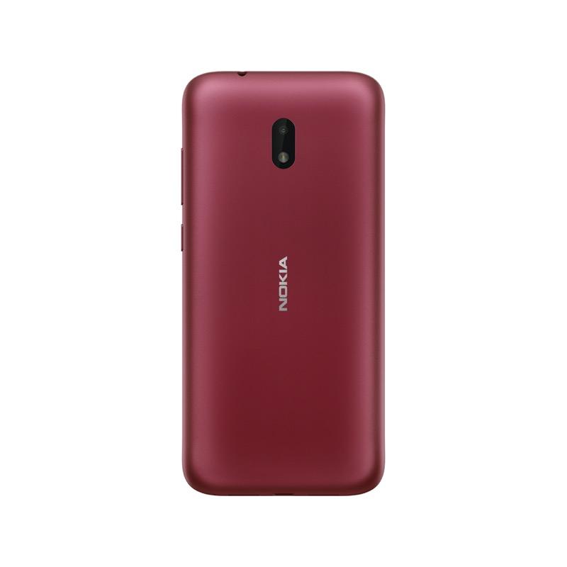 Nuevo Nokia C1 Plus con lo mejor de Android 10 ¡conoce sus características! - nokia-c1-plus-red-800x800