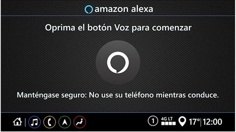 General Motors en México anuncia la llegada del primer auto integrado con Alexa, el servicio de voz de Amazon - pantalla-alexa-gm-800x450