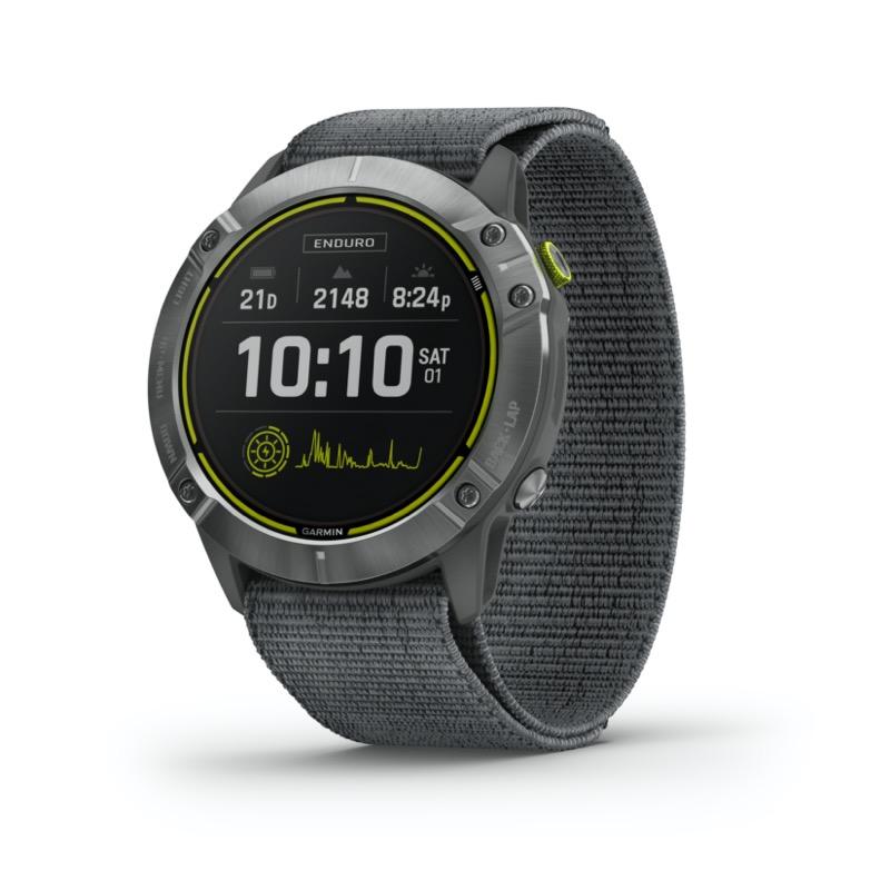 Nuevo Garmin Enduro, el reloj multideporte con GPS con una vida de batería superior - reloj-garmin-enduro-gps-800x800