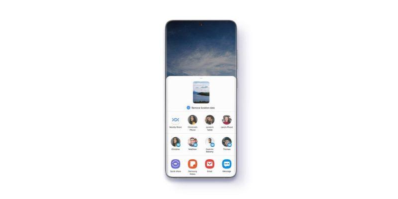 Samsung One UI 3.1 se actualiza y llegará a Galaxy S21 a las series Galaxy S20, Galaxy Note20 y Galaxy Z - samsung-one-ui-31-update-remove-metadata-800x400