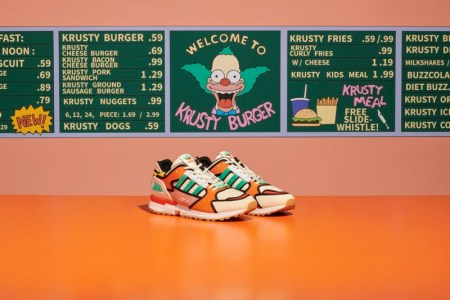 adidas y The Simpsons presentan ZX 1000 C Krusty Burger