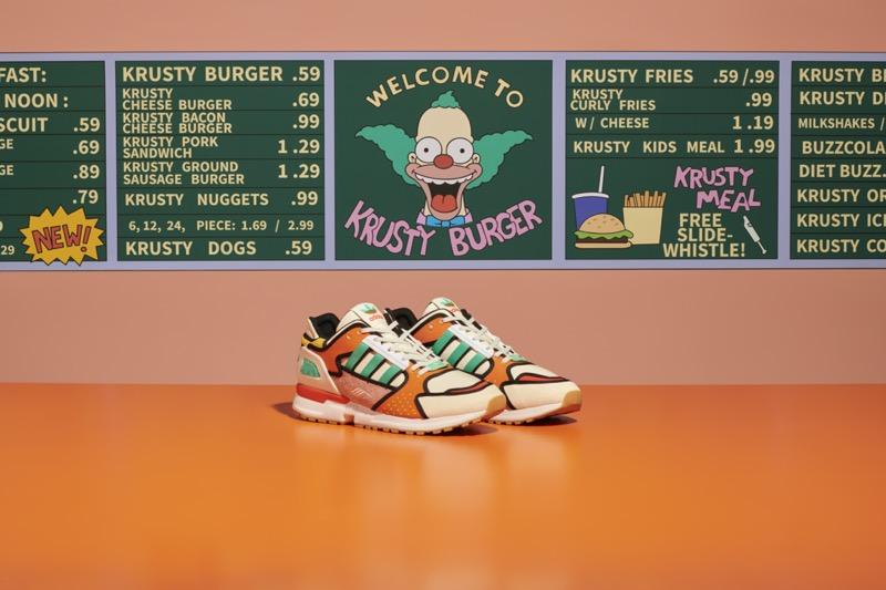 adidas y The Simpsons presentan ZX 1000 C Krusty Burger - adidas-krustyburger-kv-1-rgb