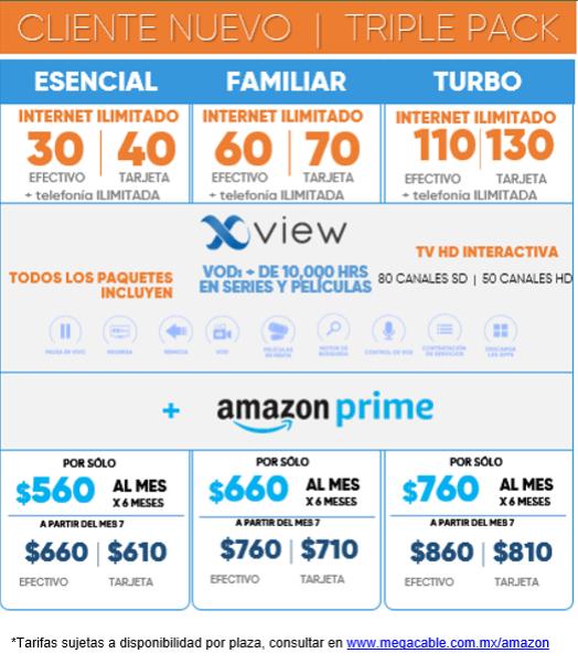 Megacable suma a Amazon Prime en sus paquetes - amazon-prime-megacable