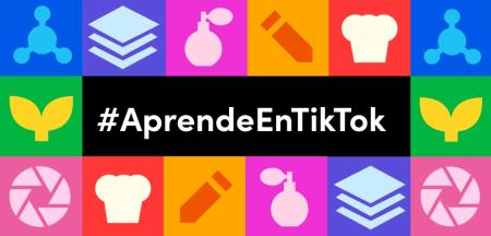 TikTok lanza #AprendeEnTikTok para unir entretenimiento y aprendizaje