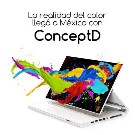 Acer lanza la línea ConceptD para creativos ¡ya disponible en México!