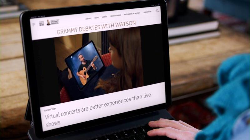 Experiencias digitales para fans en los GRAMMY impulsadas por IBM Watson - ibm-2021-grammy-debates-with-watson-1-800x450