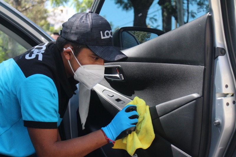 Loops: app mexicana que lava tu auto con productos biodegradables y ni una sola gota de agua - imagen-app-loops