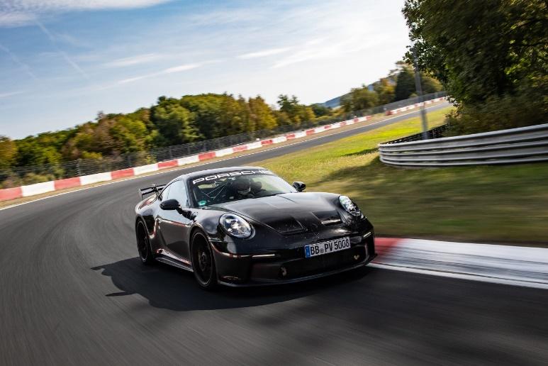 La séptima generación del Porsche 911 GT3 será equipado con llantas Michelin Pilot Sport Cup - llantas-michelin-pilot-sport-cup