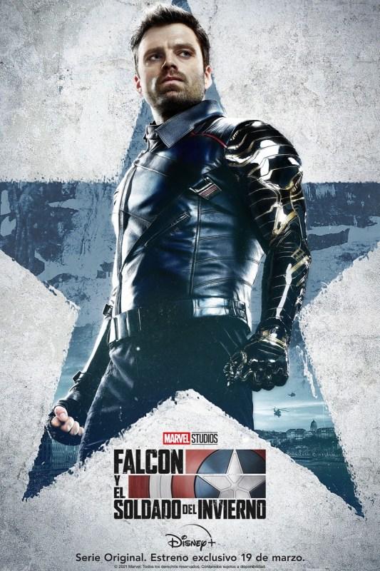 Disney Plus presenta los pósters de personajes de Falcon y el Soldado del Invierno de Marvel Studios - posters-personajes-falcon-y-el-soldado-del-invierno-marvel-studios-1-533x800