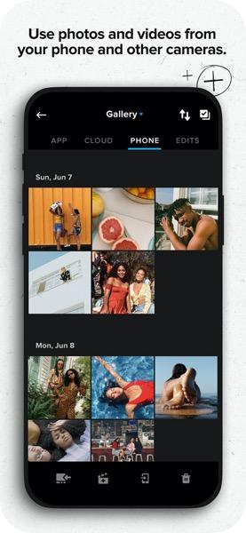 Quik, nueva app de edición de GoPro ¡conoce sus principales beneficios! - quik-gopro-03-useanyvideoanyphotofromyourphone