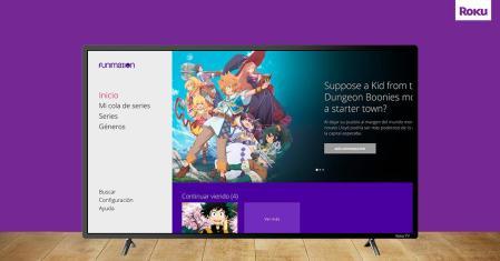 Funimation, proveedor mundial de contenido de animé, está disponible en la plataforma Roku en México