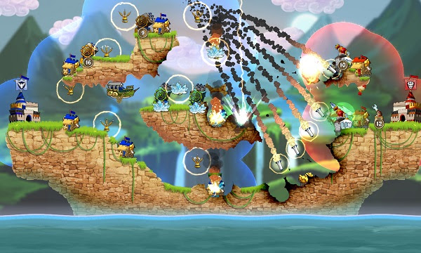 El Clásico RTS 2D Cannon Brawl llega a Nintendo Switch el 14 de Abril - rts-2d-pc-cannon-brawl