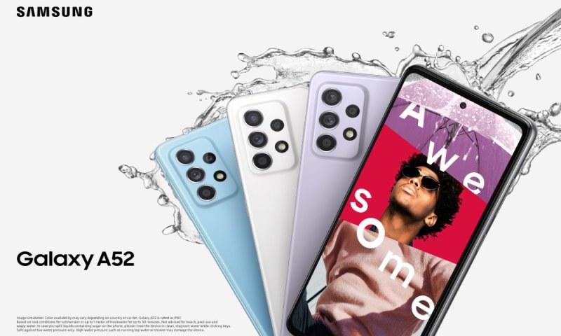 Nuevos smartphones de la Serie A de Samsung: Galaxy A72 y A52 ¡conoce sus características! - samsung-galaxy-a52-800x480
