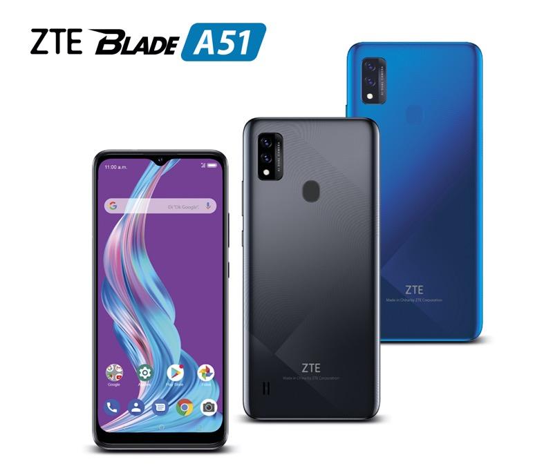 Nuevo ZTE Blade A51 ¡conoce sus características y precio! - zte-blade-a51-smartphone