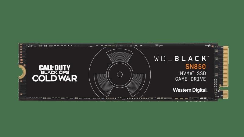 Western Digital lanza nuevas unidades WD_BLACK de edición especial Call of Duty - cod-wd-black-sn850-nvme-ssd-front-hero-sml
