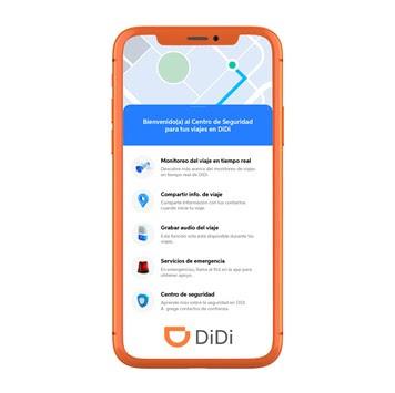 DiDi reduce en un 40% los incidentes de seguridad en la plataforma en México