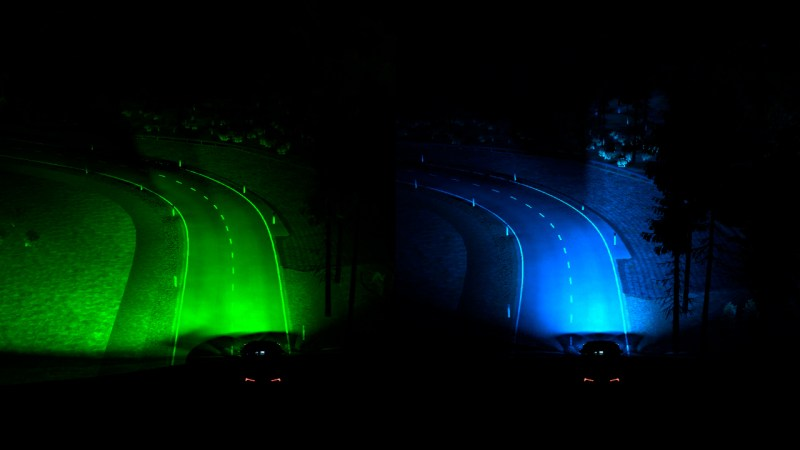 ¿Visión Felina? Los nuevos faros de Ford se adelantan para facilitar la conducción nocturna - ford-smart-headlights-2021-800x450