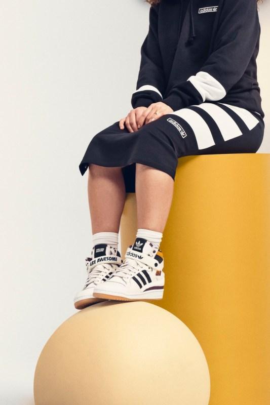adidas Originals y Girls Are Awesome se unen para crear una colección multifacética de pies a cabeza - girls-are-awesome-adidas-forum-533x800