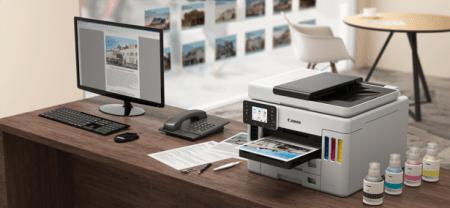 Nueva Maxify de Canon, impresora con múltiples funciones y alta productividad