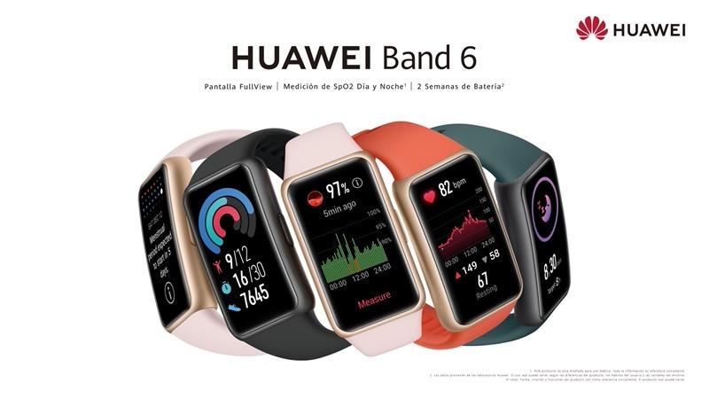 Nueva HUAWEI Band 6 ¡ya disponible para preventa en México!