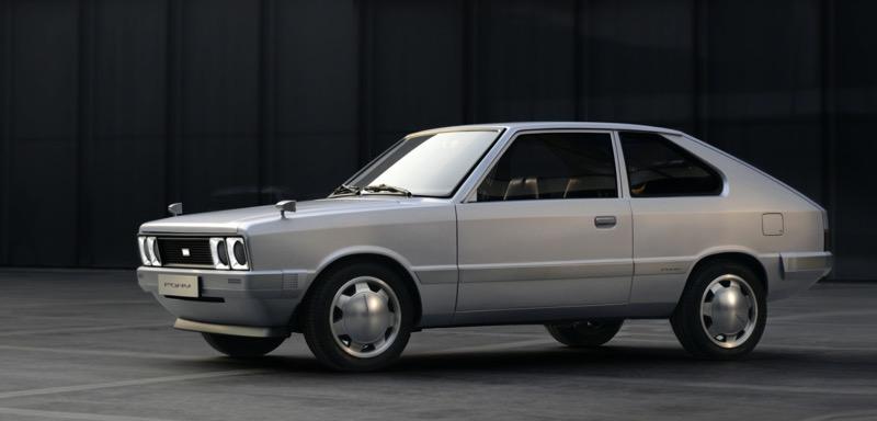 Hyundai Motor ha revelado el PONY de la serie Heritage - hyundai-heritage-series-pony-003-1