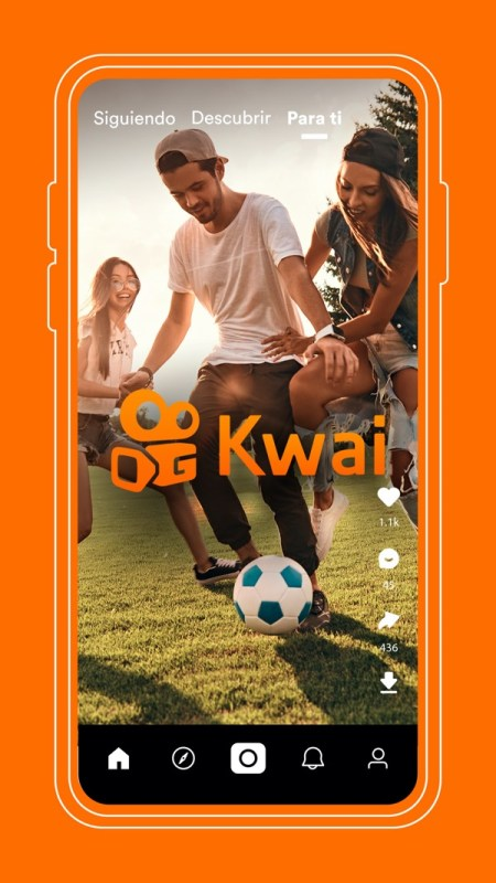 Kwai, la red social de vídeos cortos y tendencias, llega oficialmente a México - kwai-mexico-1-450x800
