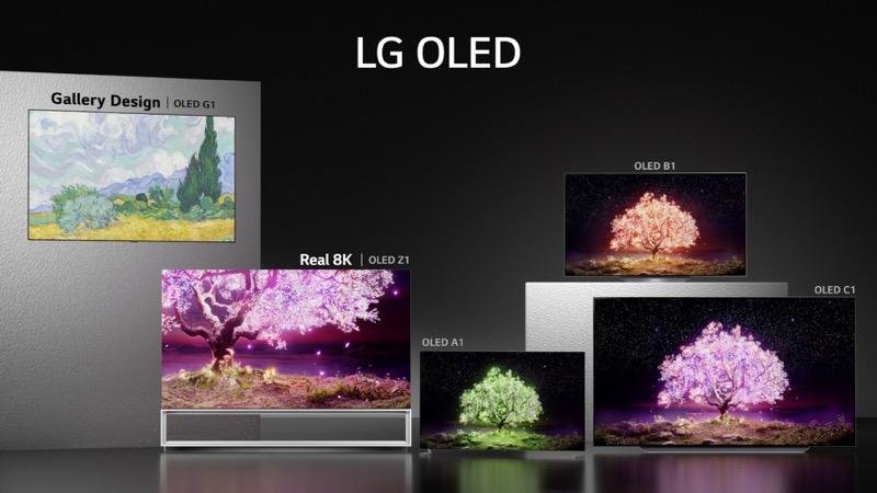 LG lanza en México nueva línea de televisores 2021: OLED evo y NanoCell 8K - lg-oled-lineup