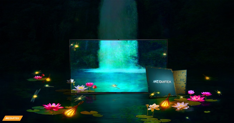 MediaTek y Samsung lanzan televisor 8K habilitado para Wi-Fi 6E - mediatek-samsung