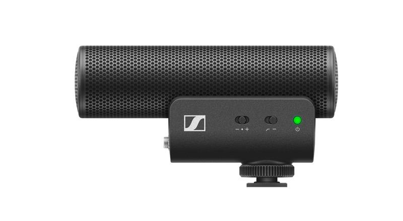 Sennheiser lanza MKE 400: micrófono para grabar audio profesional con smartphones o cámaras portátiles - mke-400-product-shot-cutout-left-side