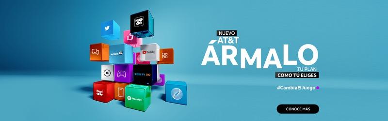 AT&T Ármalo: nuevo plan que podrás personalizar de acuerdo a tus necesidades - plan-att-armalo