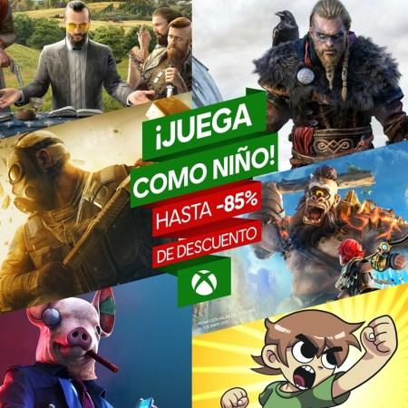 Los mejores títulos de Ubisoft para Xbox a un precio especial
